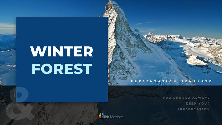Winter Forest Google PowerPoint Presentation_01