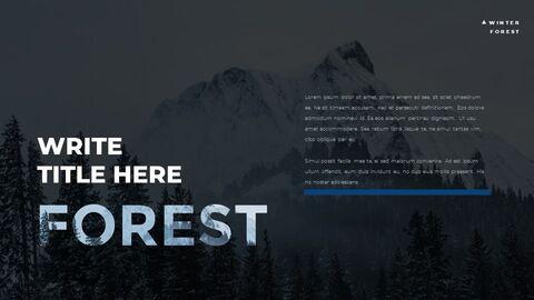 Winter Forest Google PowerPoint Presentation_04