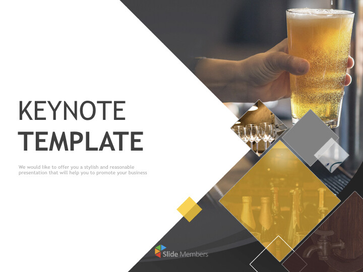 Keynote Download Free - a <span class=\'highlight\'>glass</span> of cold beer_01