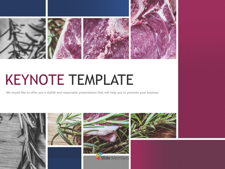 Free Presentation Template - <span class=\'highlight\'>well</span> mature meat_01