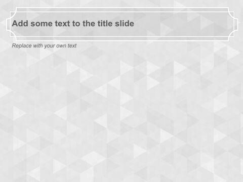 Free 프레젠테이션 템플릿 - 제목 윤곽선이있는 회색 반짝임 배경_04