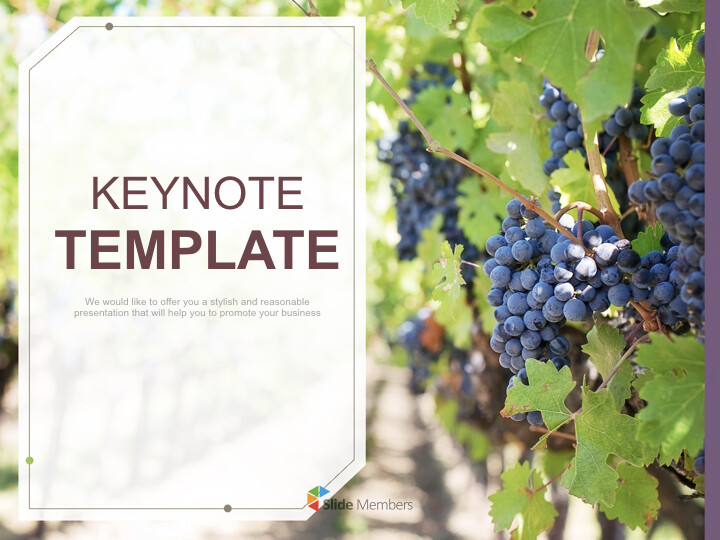 Free Keynote Backgrounds - <span class=\'highlight\'>Well</span>-ripen Grapes_01