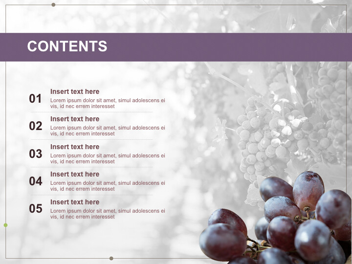Free Keynote Backgrounds - <span class=\'highlight\'>Well</span>-ripen Grapes_02