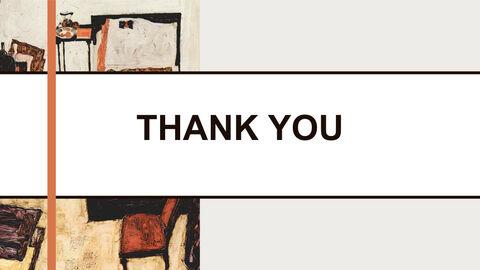 Free 프레젠테이션 템플릿 - Egon Schiele & lt; Neulengbach의 실레_06