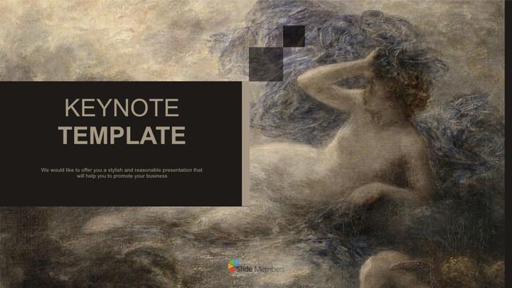 Henri Jean Theodore Fantin Latour & lt; LA Nuit> - 온라인 무료 키노트_01
