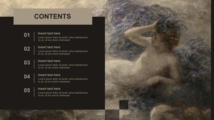 Henri Jean Theodore Fantin Latour & lt; LA Nuit> - 온라인 무료 키노트_02