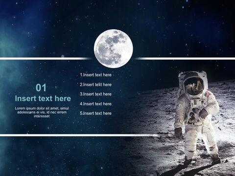 달과 우주 비<span class=\'highlight\'>행사</span> - 무료 키노트 배경_03
