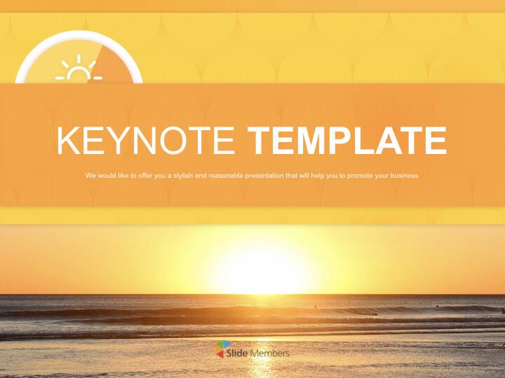 A New-year <span class=\'highlight\'>Sunrise</span> - Free Keynote Templates_01