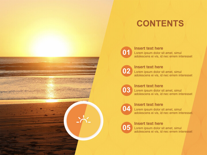 A New-year <span class=\'highlight\'>Sunrise</span> - Free Keynote Templates_02