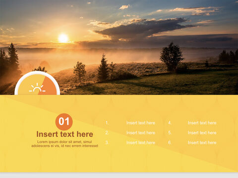 A New-year <span class=\'highlight\'>Sunrise</span> - Free Keynote Templates_03