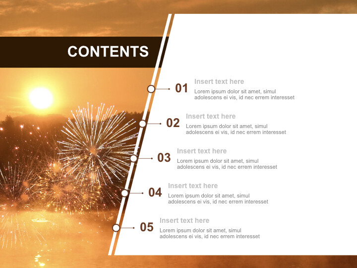 Free Business Keynote Templates - A New-year's <span class=\'highlight\'>Sunrise</span>_02