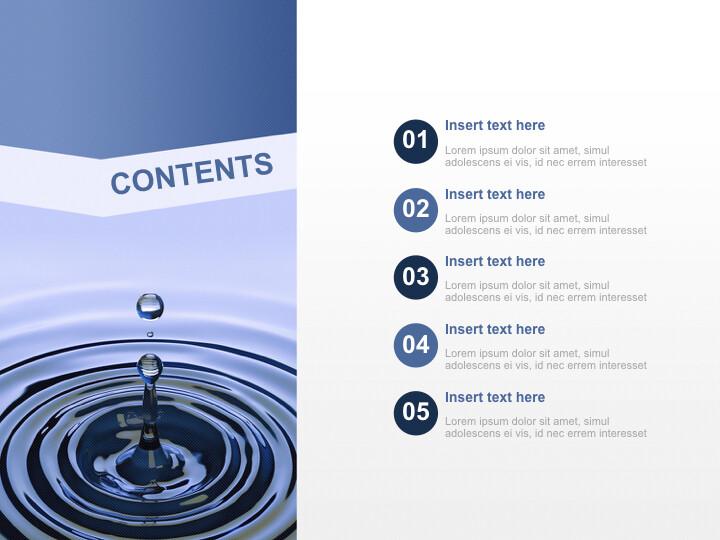 Free Business Keynote Templates - water Drop_02