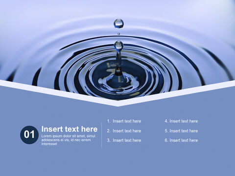 Free Business Keynote Templates - water Drop_03