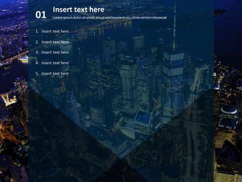 무료 PowerPoint 템플릿 - 뉴욕시의 야경_03