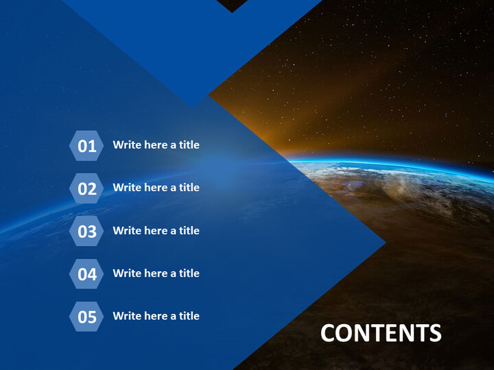 Free PPT Template Design - Mystery of the Universe_02