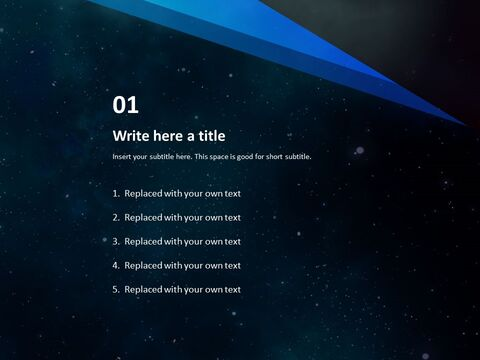 Free PPT Template Design - Mystery of the Universe_03