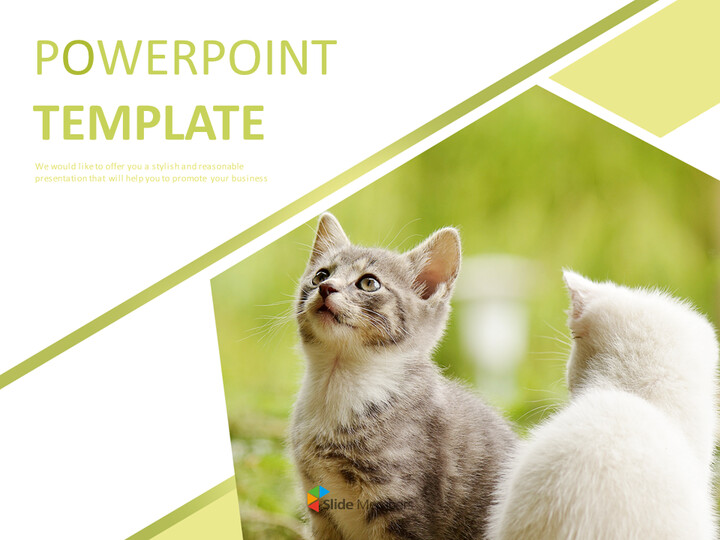 Kittens - Free Business PowerPoint Templates_01