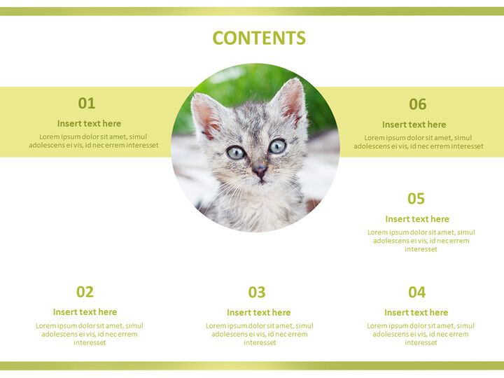 Kittens - Free Business PowerPoint Templates_02