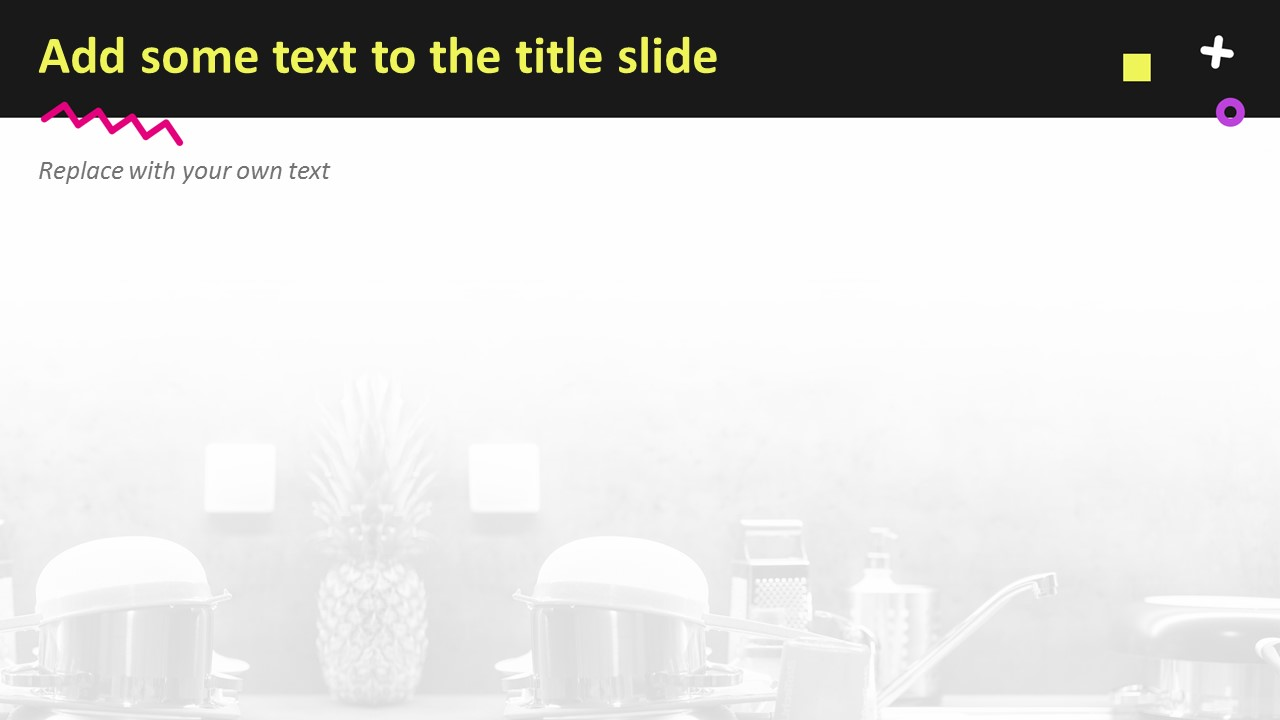 Powerpoint Template Free Download Cleaning Sink