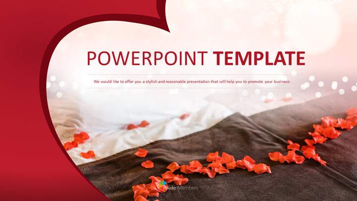 Rose Bedroom - Free Professional PowerPoint Templates_01