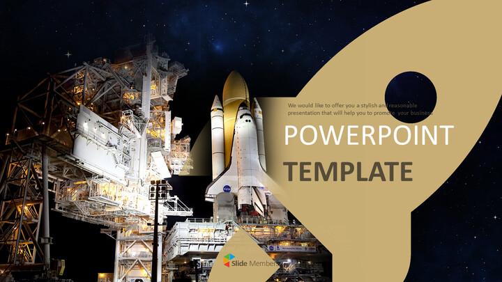 우주선 - 무료 디자인 템플릿_01