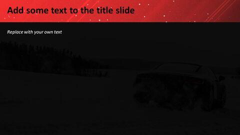눈 위에 차량 - 무료 템플릿 디자인_04