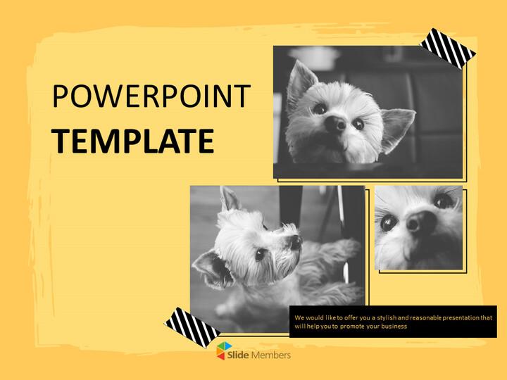 Yorkshire Terrier - PPT Design Free_01