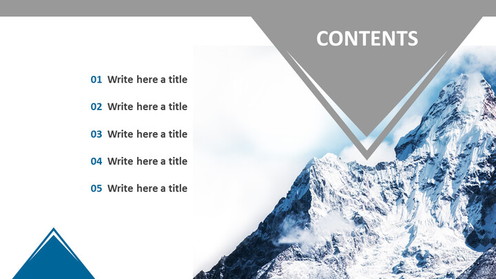 Climbing Everest Mountain - Free Professional PowerPoint Templates_02
