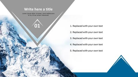 Climbing Everest Mountain - Free Professional PowerPoint Templates_03