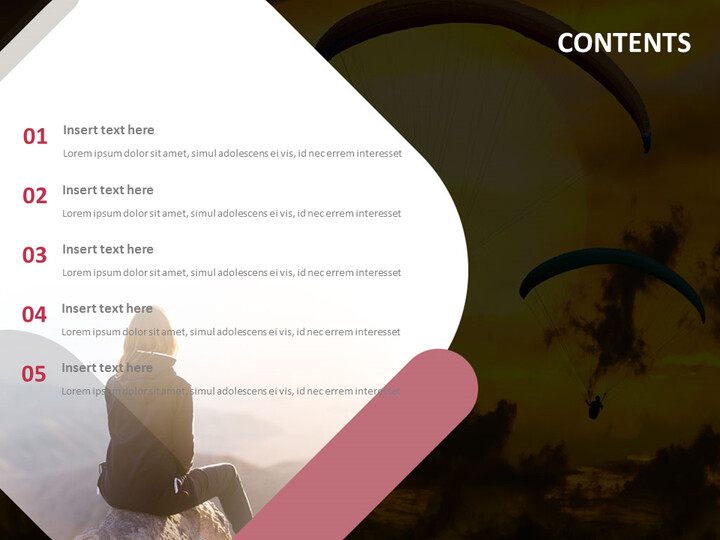 Free PowerPoint - Paragliding_02