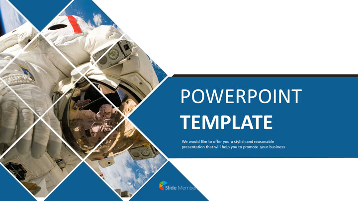 Free PowerPoint Template Download - Spaceflight_01