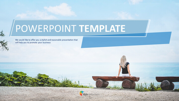 Free Powerpoint Templates Design - Travel Alone_01