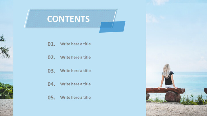 Free Powerpoint Templates Design - Travel Alone_02