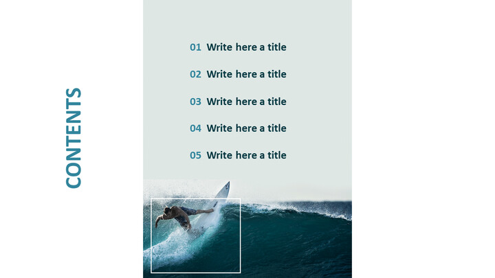 Free PPT Template - Surfing_02