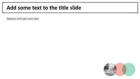 자연의 고속도로 - 무료 PowerPoint 템플릿 디자인_05
