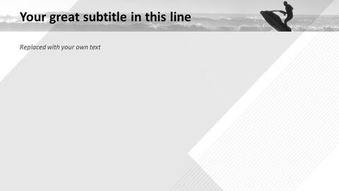 제트 스키 - 무료 파워포인트 템플릿_05
