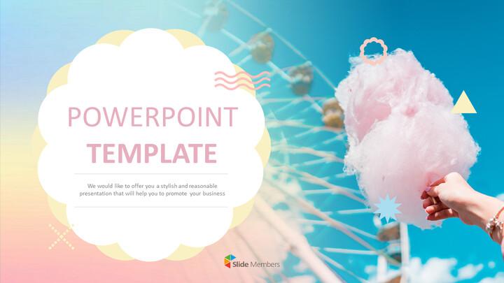 PowerPoint Templates Free Download - Amusement Park_01