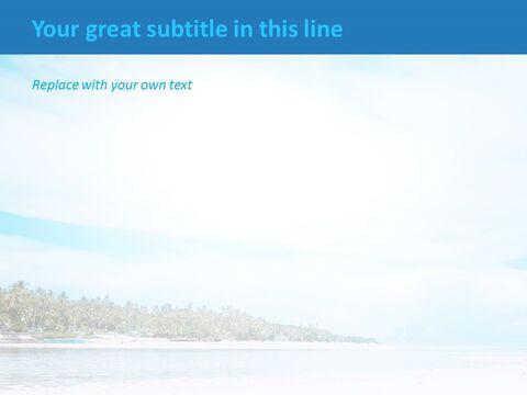 PPT 무료 다운로드 - 모래 사장_05