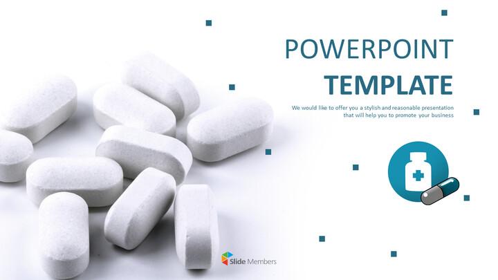 병과 약 - 무료 피피티 템플릿_01