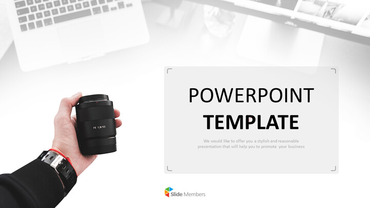 <span class=\'highlight\'>Camera</span> Lens - Free Powerpoint Templates Design_01