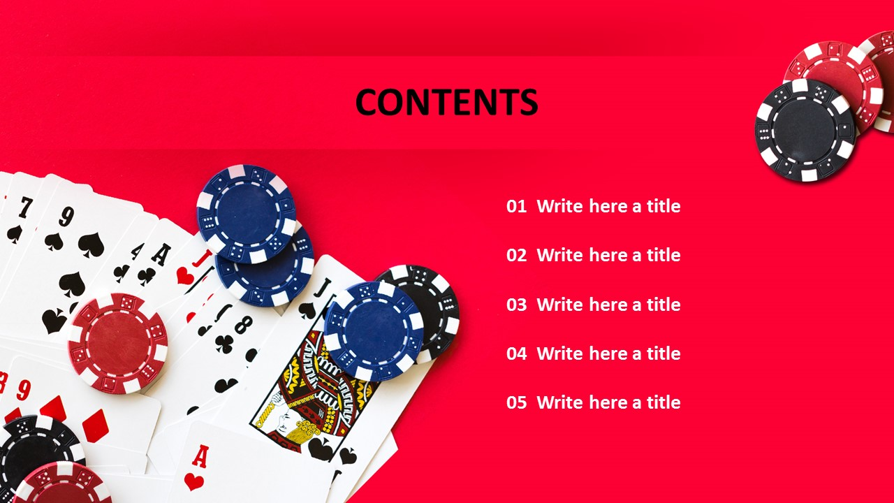Casino Ppt Templates Free Download
