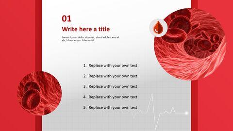 무료 템플릿 디자인 - 혈액과 적혈구_03