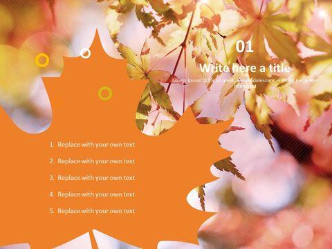 단풍 나무 - 무료 비즈니스 파워포인트 템플릿_03