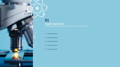 현미경 - 무료 PowerPoint 템플릿 디자인_03
