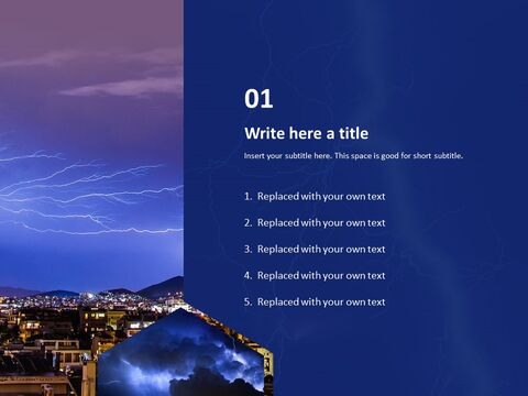 PowerPoint Template Free - Thunder and Lightning_03