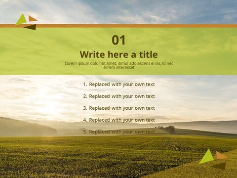 PowerPoint Templates Free Download - Sunset Field_03