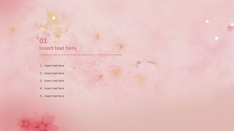 PPT 디자인 무료 - 벚꽃_03