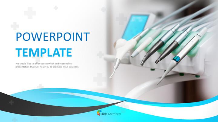 PPT 템플릿 무료 다운로드 - 치과 의료 도구_01
