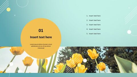 Yellow Tulip - PowerPoint Presentation Download Free_03