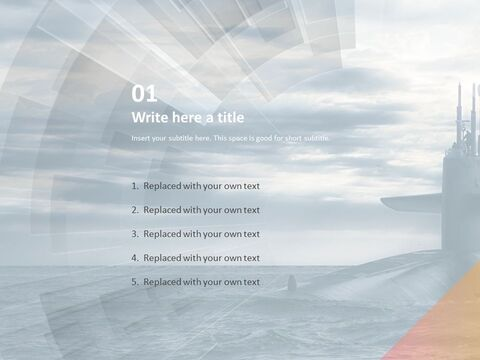 A Huge Submarine - Free Powerpoint Templates Design_03